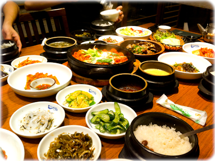 Image gallery korean restaurant seoul for Authentic korean cuisine