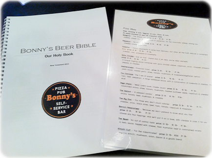 bonnys pizza